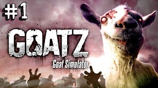 Goat Simulator: GoatZ - LE CAPRE ZOMBIE CI INVADONO!