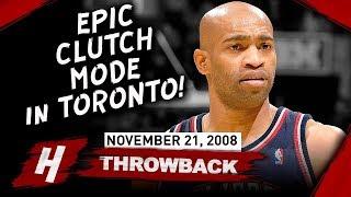 Vince Carter SAVAGE Full Highlights vs Raptors 2008.11.21 - 39 Pts, EPIC CLUTCH Plays!