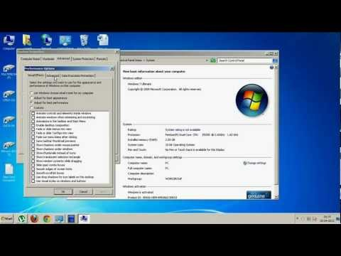 How to increase virtual memory in Windows 7 or Windows OS.avi