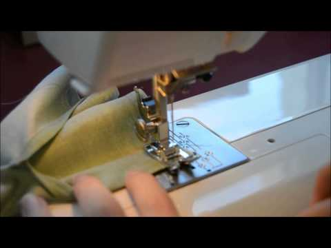 How to sew the sleeve cuff - Carme Sew-Along
