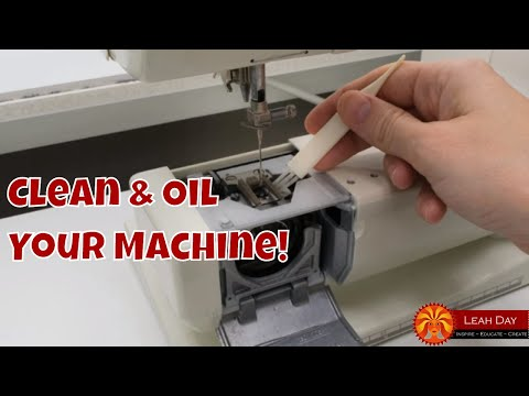 How to Clean and Oil Your Sewing Machine with Leah Day