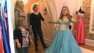 Watch Elizabeth Johnston Try On These Beautiful Pageant Dresses