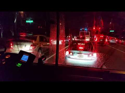 Bus Ride from EPCOT at Walt Disney World to Disney's Pop Century Resort - No Music