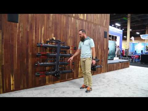 Kuat NV 2.0 Bike Rack and Tridock