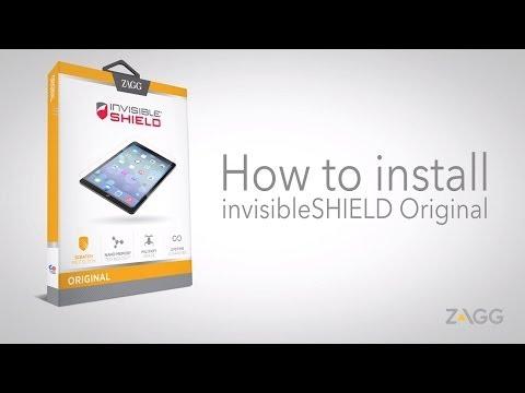 invisibleSHIELD Original - Tablet Installation Walkthrough
