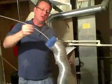 How to Clean a Dryer Vent - Prevent a Lint Fire