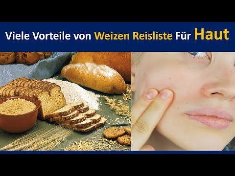 Erstaunliche Leistungen der gesamten Weizen für Haut | bietet Nahrung. & Schützt vor unbeschädigt