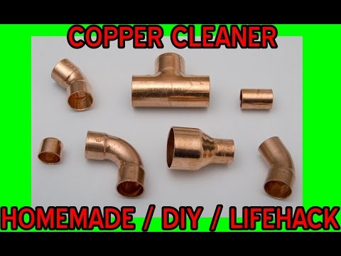 homemade copper cleaner | diy | lifehack