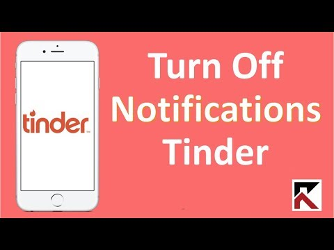 How To Turn Off Tinder Notifications iPhone