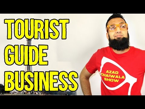 Tourist Guide Business Idea in Pakistan In India | Azad Chaiwala Show