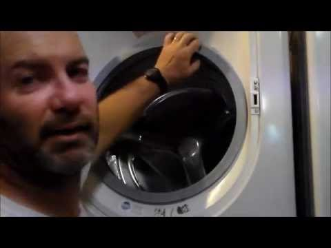 Replacing a front load washing machine door seal