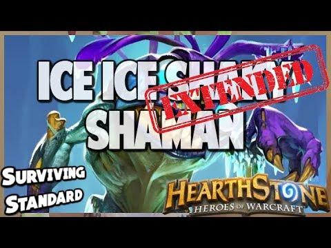 Ice Ice Shaky Shaman | Extended Gameplay | Hearthstone | Kobolds and Catacombs
