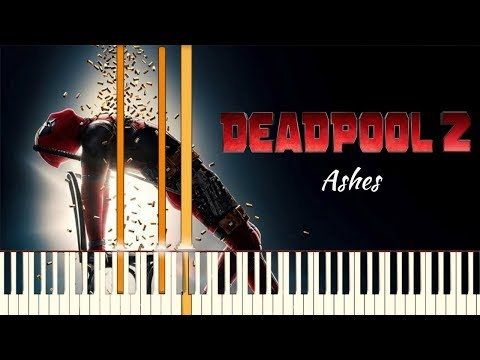 Céline Dion - Ashes - Deadpool 2 Main Theme | Piano Tutorial (Synthesia)