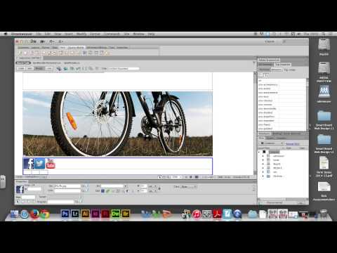 Week 08/02 - Creating SPRY MENU BAR website in Adobe Dreamweaver