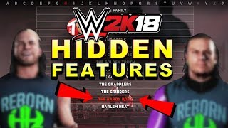 WWE 2K18 - HIDDEN FEATURES You Might Not Know! (Hardy Boyz, New DLC Features, Changes & More!)