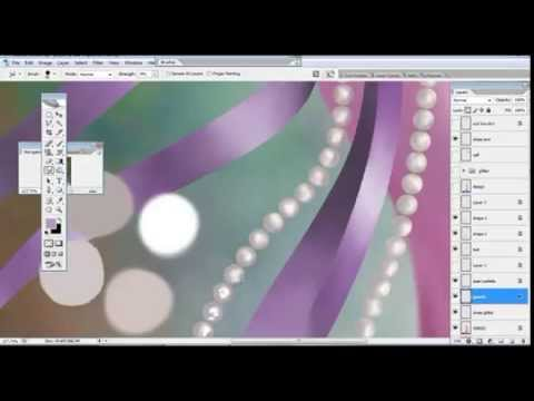 pearls in photoshop