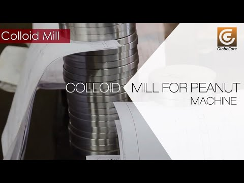 Colloid mill for the peanut paste and peanut butter production