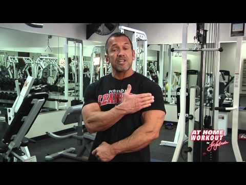 Lee Labrada's 3-Minute at Home Biceps Workout Routine