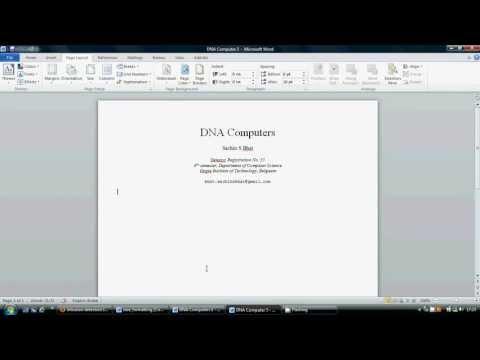 ieee paper formatting tutorial by SB.flv
