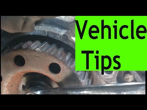 Vehicle tips: How to change the timing belt on a Dodge Caravan