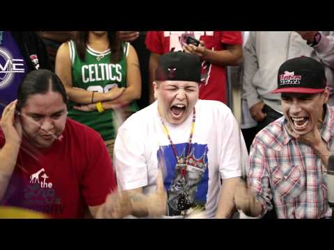 Young Spirit - Fancy Fan Action (Tha Powwow 2012)