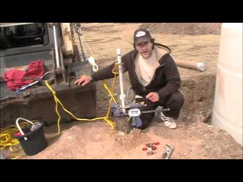 How to install a Cheap Foot Valve Water Pump In Well