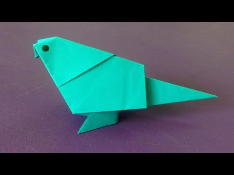 How to make a paper bird | Easy origami birds for beginners making | DIY-Paper Crafts