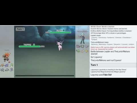 Pokemon Showdown OU - Mega Lopunny y sus compañeros al ataque