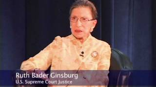 Legally Speaking: Ruth Bader Ginsburg
