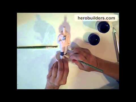 MAKING OF A BOBBLE HEAD TUTORIAL - EPISODE 5 - PAINTING