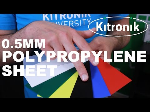 0.5mm Polypropylene Sheets