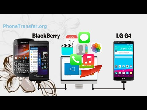 How to Copy All Data from BlackBerry Phone to LG G4, Sync BlackBerry Contacts with LG G4
