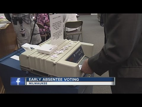 Early absentee voting starts this month in Milwaukee