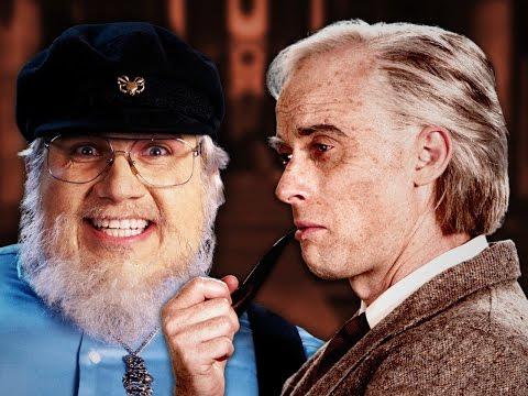 J. R. R. Tolkien vs George R. R. Martin.  Epic Rap Battles of History. Season 5