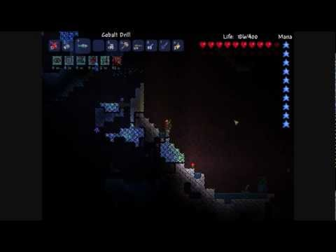 Quick Tut: FINDING HARDMODE THE ORES! Cobalt, Myhtril and Adamantite. [Terraria]