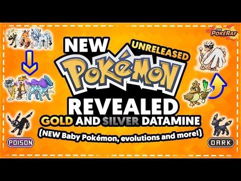 NEW UNRELEASED POKEMON! POISON TYPE EEVEELUTION, FARFETCH'D EVOLUTION & MORE! (Pokémon Gold/Silver)