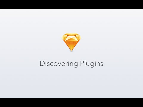 Discovering and Using Plugins in Sketch