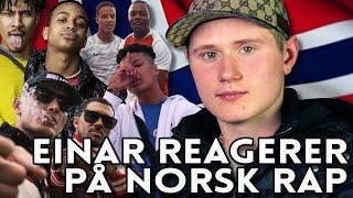 EINÁR REAGERER PÅ NORSK RAP | YLTV