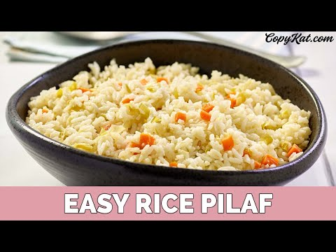 How to Make Rice Pilaf - Super Easy Rice!