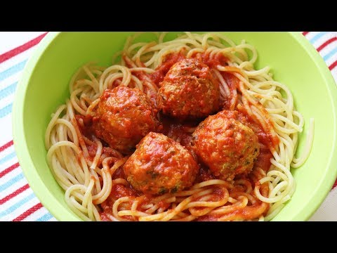 Quick & Easy Spaghetti & Meatballs