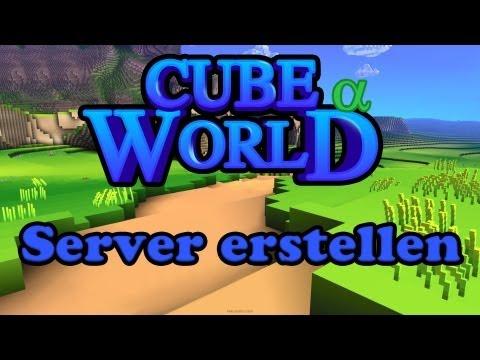 Cube World [ALPHA] Server erstellen