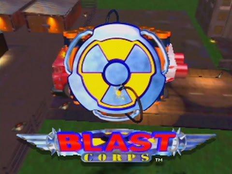 Blast Corps - Intro Video