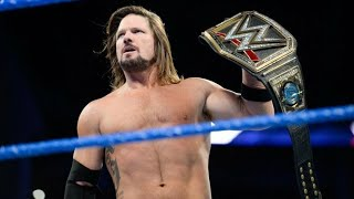 AJ Styles On If He Will Renew With WWE After His Contract Expires REVEALED