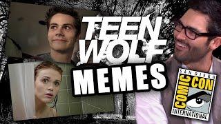 Teen Wolf Cast Creates Memes & Talks Wieners: Comic-Con 2014