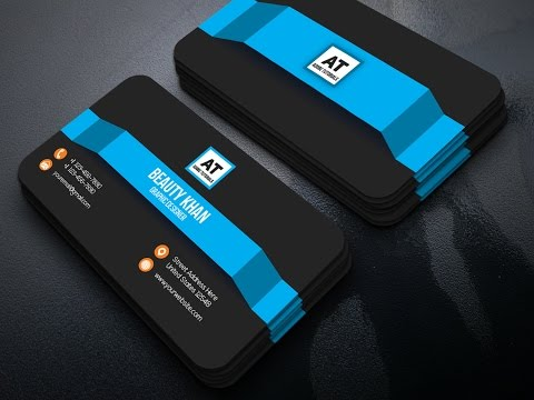 GraphicRiver Business Card Design Tutorial ~ illustrator Card Design ~  illustrator  CC Tutorial