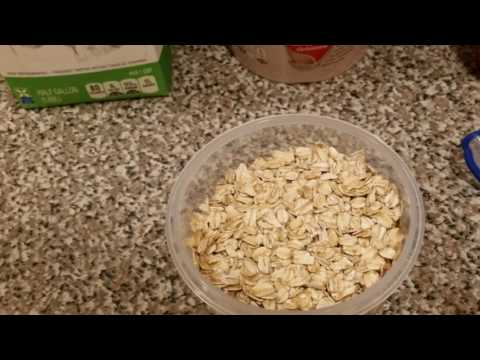 How to make cold oats for breakfast