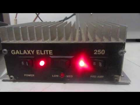 Galaxy/Palomar Elite 250 Mobile Linear Amplifier
