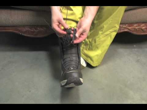 Snowboard Boot Lacing Guide - DC Rapid Lace