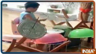 ड्रम पर नन्हें उस्ताद का कमाल, देखिये दुनियाभर में वायरल कुछ खास वीडियोज