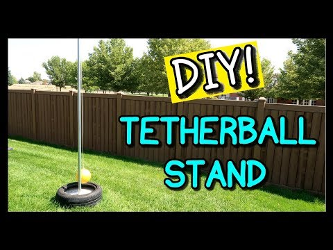 How To Make A Tetherball Stand! | I Am Kristin 📍